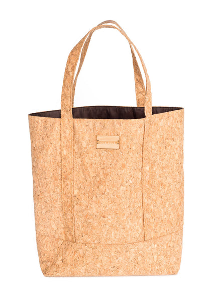 corature cork tote white background