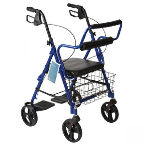 Combination Rollator & Transport Wheelchair - Budget Medical Supplies