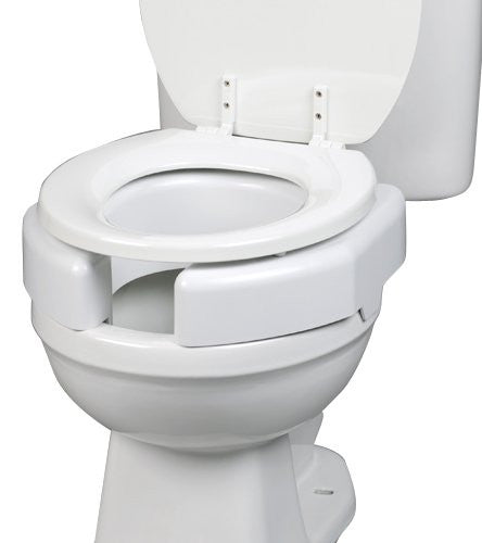 "3"" Bariatric Secure Bolt Raised Toilet Seat - Budget Medical Supplies"