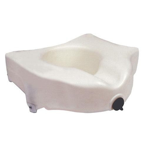 "4"" Raised Toilet Seat with Lock - Budget Medical Supplies"