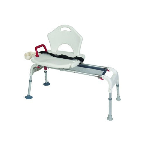 Universal Sliding and Folding Transfer Bench - Budget Medical Supplies