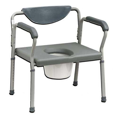 Deluxe Oversized Commode - Budget Medical Supplies
