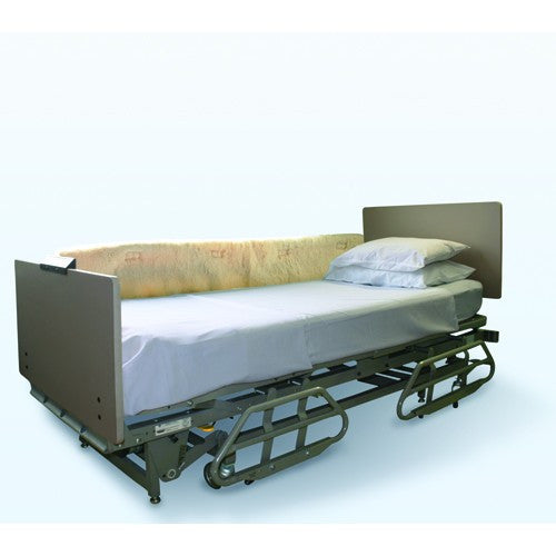 Synthetic Sheepskin Bed Rail Pads - Budget Medical Supplies