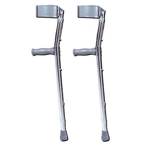 Adult Adjustable Forearm Crutches - Budget Medical Supplies