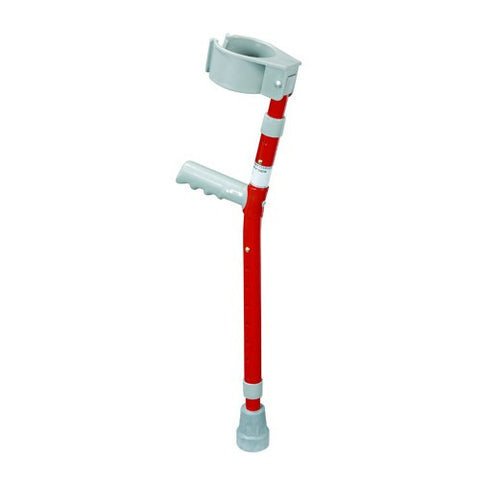 Child Forearm Crutches - Red - Budget Medical Supplies