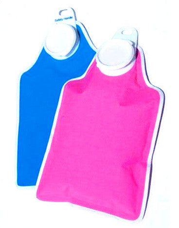 Hot Water Bottle with Soft Fabric Cover - Budget Medical Supplies