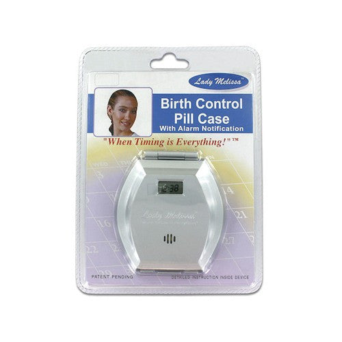 Birth Control Pill Case with Alarm Notification - Budget Medical Supplies