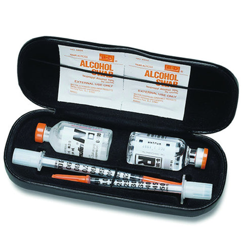 D.I. Insulin and Syringe Carry Case - Budget Medical Supplies