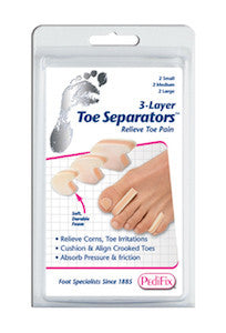 3 Layer Toe Separators - Budget Medical Supplies