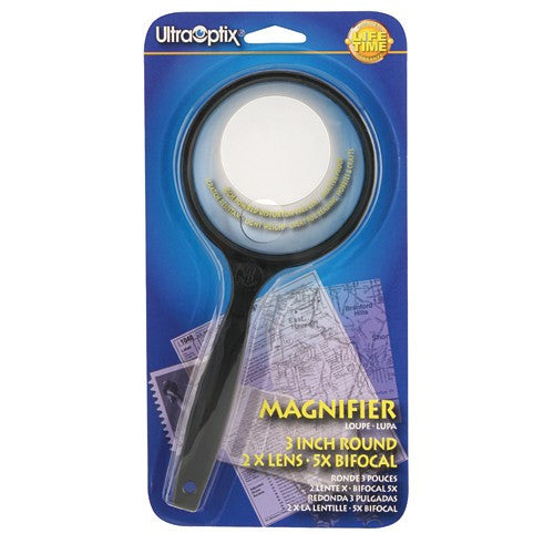 Round Magnifying Glass - Budget Medical Supplies