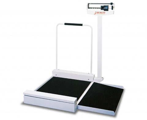 Wheelchair Scale with Eye-Level Beam - Budget Medical Supplies