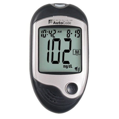 Prodigy AutoCode Talking Blood Glucose Meter Kit - Budget Medical Supplies