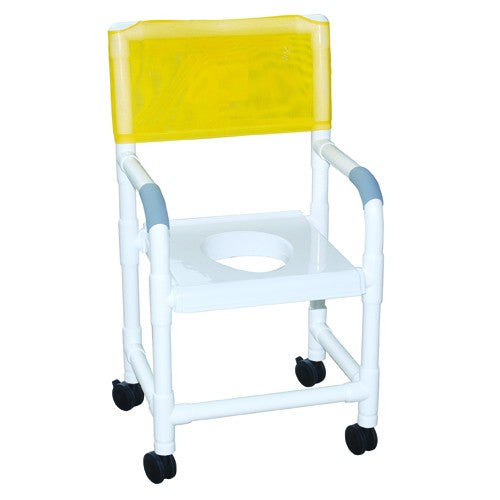Shower Chair with Full Support Snap-on Seat - Budget Medical Supplies