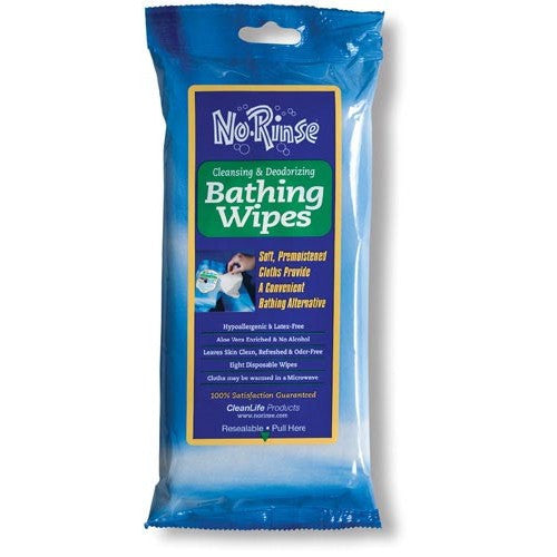 NoRinse Bathing Wipes - Budget Medical Supplies
