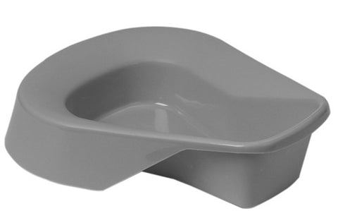 Disposable Graphite Bed Pan without Cover - Budget Medical Supplies