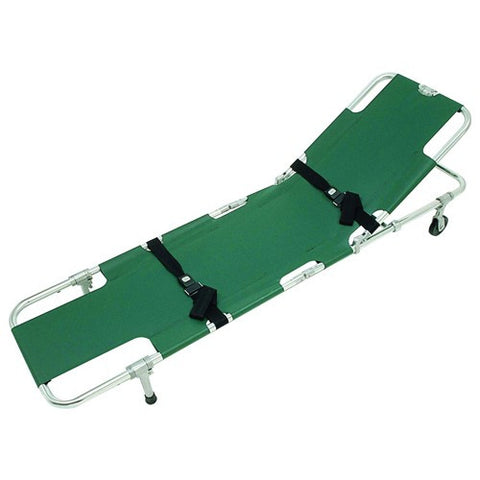 Easy Fold Wheeled Back Stretcher - Budget Medical Supplies