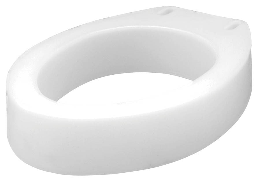 Carex Elongated Raised Toilet Seat - Budget Medical Supplies