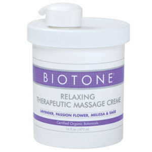 BIOTONE Relaxing Therapeutic Creme - Budget Medical Supplies