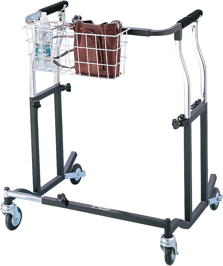 Bariatric Safety Rolling Adult Walker - Budget Medical Supplies