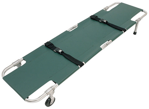 Easy Fold Wheeled Stretcher - Budget Medical Supplies