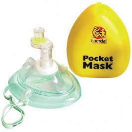 Pocket Mask with One Way Valve & Filter - Budget Medical Supplies