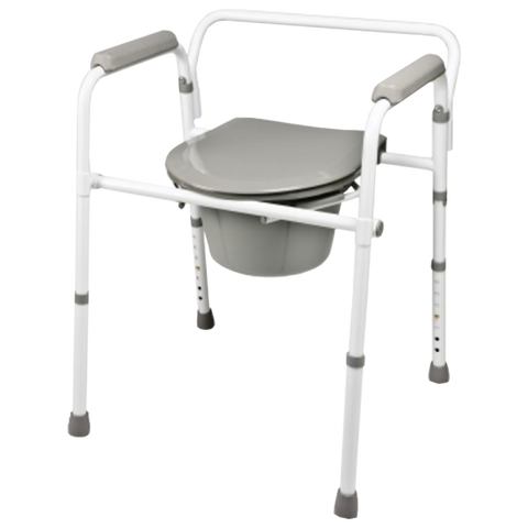 Guardian Easy Care 3 in 1 Steel Commode - Budget Medical Supplies