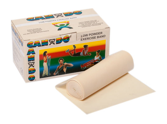 CanDo Low Powder Exercise Band Rolls - Budget Medical Supplies