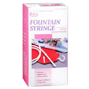 Fountain Syringe Enema System - Budget Medical Supplies