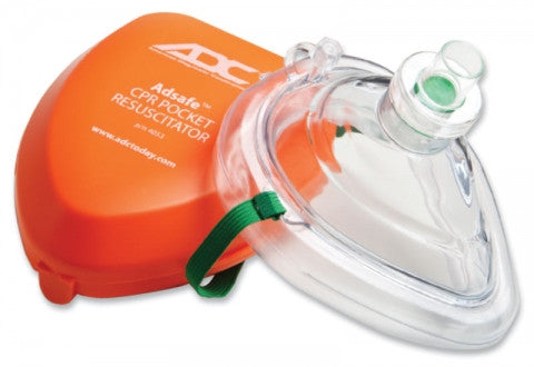 CPR Pocket Mask with Hard Case - Budget Medical Supplies