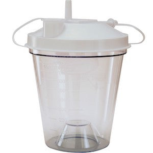 800cc Disposable Suction Canister - Budget Medical Supplies