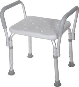 Bath Bench with Padded Arms - Budget Medical Supplies