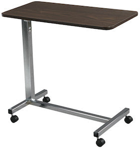 Economical Non-Tilt Overbed Table