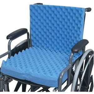 Convoluted Wheelchair Cushion with Back - Budget Medical Supplies