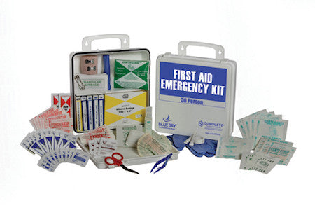 First Aid Kit (50 People) - Budget Medical Supplies
