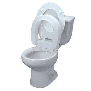 Hinged Raised Toilet Seat - Budget Medical Supplies