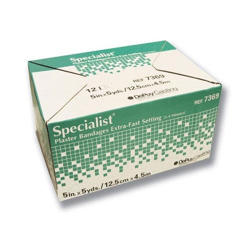 Specialist Plaster Bandages X-Fast Setting - Budget Medical Supplies