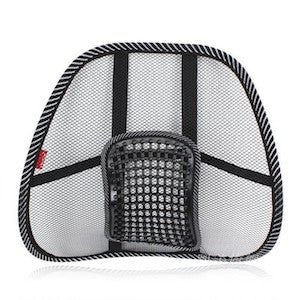 Cool Mesh Back Support with Massage Pegs - Budget Medical Supplies