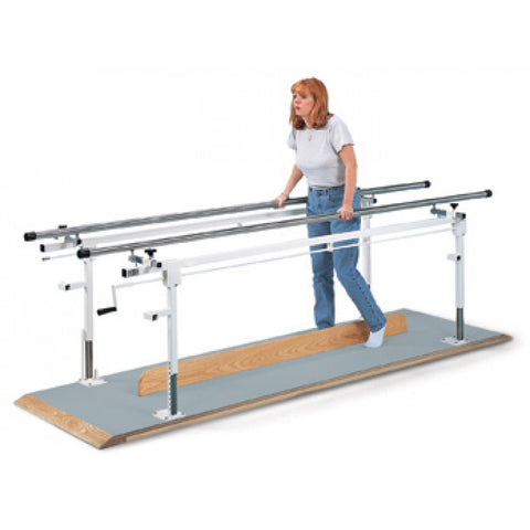10' Crank Adjustable Parallel Bars - Budget Medical Supplies