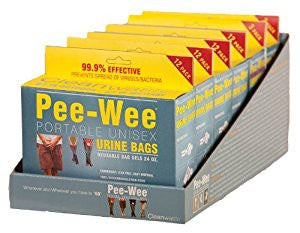 Pee-Wee Disposable Urinal Display - Budget Medical Supplies