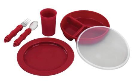 Redware Tableware Deluxe Set - Budget Medical Supplies