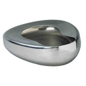 Stainless Steel Bedpan - Budget Medical Supplies