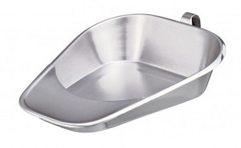Stainless Steel Fracture Bedpan - Budget Medical Supplies