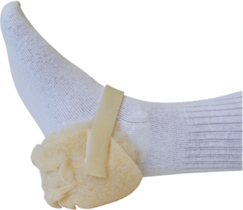 Synthetic Sheepskin Heel Protector - Budget Medical Supplies