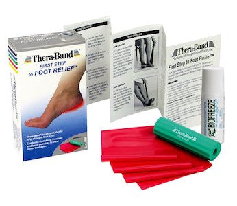 Thera-Band First Step to Foot Relief Set