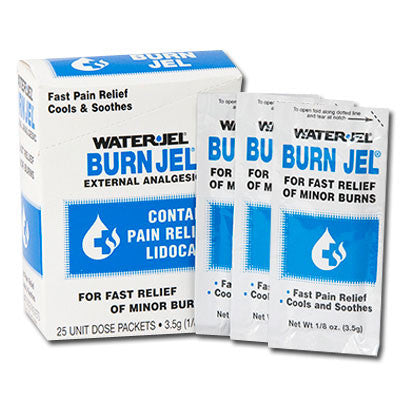 Water Jel Burn Jel Packets - Budget Medical Supplies