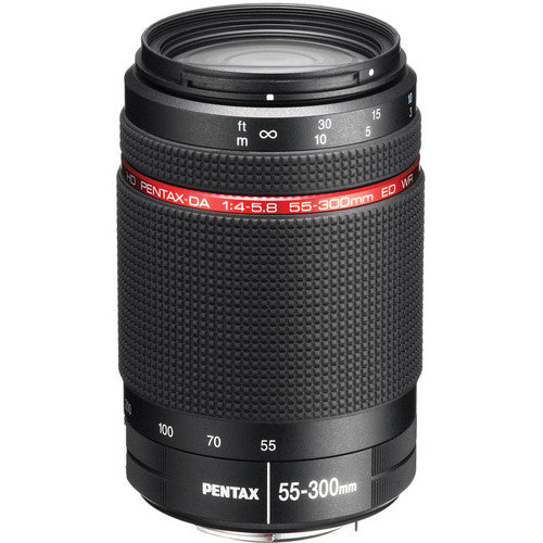 Pentax HD DA 55-300mm f4-5.8 ED WR Black Lens