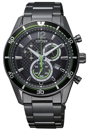 Citizen Eco-Drive Chronograph Sports AT2115-52E Watch (New with Tags)