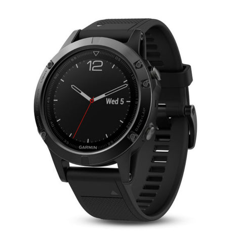 Garmin fenix 5 Sapphire Edition with Black Band 010-01688-11 GPS Watch (Black)