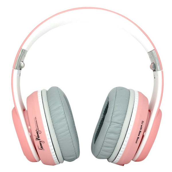 Fanny Wang 2003 Over Ear Series Pink Headphones