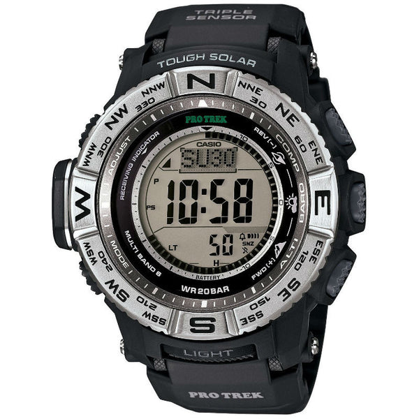 Casio Protrek Multi Field Line Solar PRW-3500-1 Watch (New with Tags)